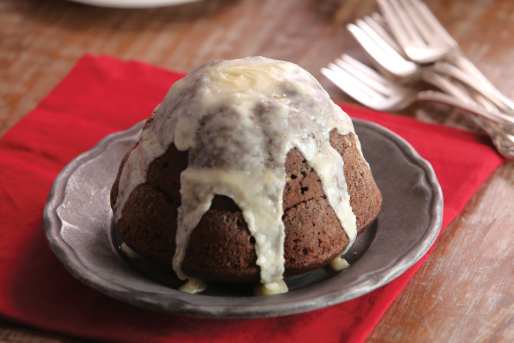 ... super moist cake than a pudding. Recipe: Steamed Chocolate Pudding