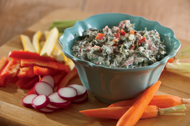 Easy Yogurt Veggie Dip Recipe