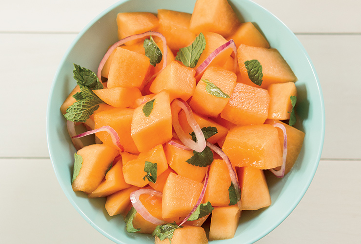 Cantaloupe Salad Recipe