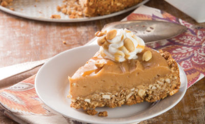Peanut Butter Salted Caramel Pie
