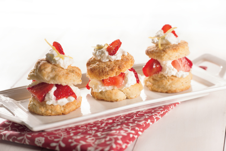 Strawberry Lemon Shortcakes