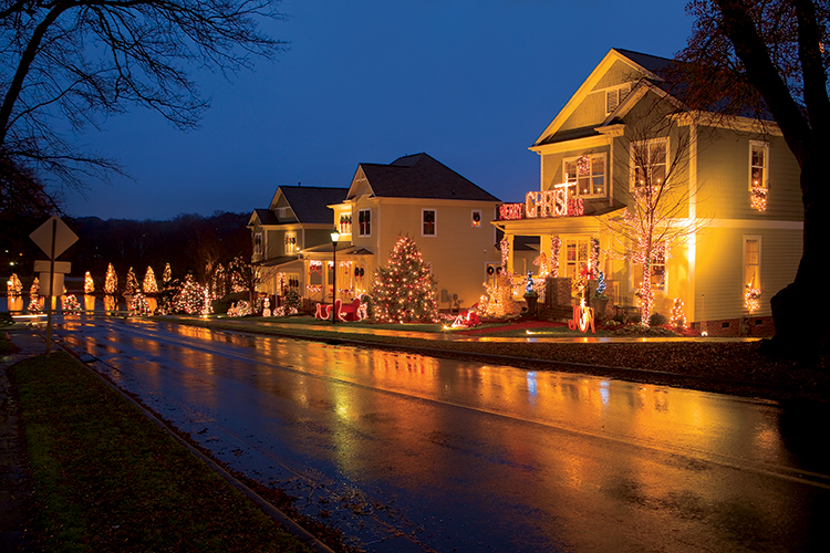 Welcome To Mcadenville Nc Christmas Town Usa