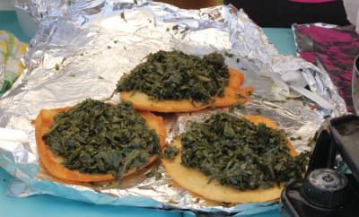 Collard Sandwich