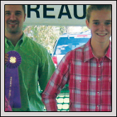 Farm Bureau sponsored the annual Greene County   Goat Show Sept. 10 in Snow Hill. Pictured, left to right, are Alexis   Briley of Pitt County, who showed the Grand Champion Market Kid; judge   John Tart III; Kaelyn Mohrfield of Lenoir County, who showed the Reserve   Champion Market Kid; and Greene County Farm Bureau member Frankie   Beaman. Youth participating from Greene County were Madison Daughtry,   Carlie Williams, Kynslee Thomas, Emily Eatman, Sara Byrd and Corbett   Shaffer.