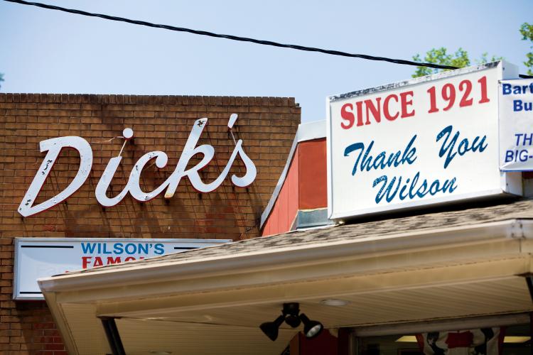 Dicks Hotdog Stand