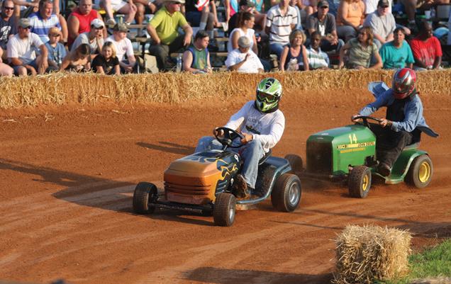 Lawn Mower Racing in North Carolina