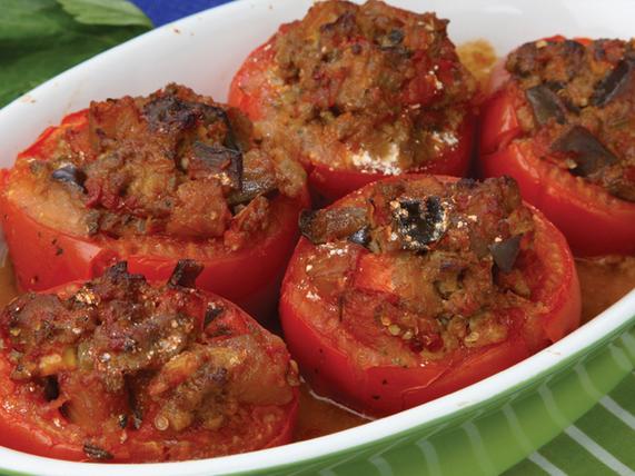 baked stuff tomatoes recipe