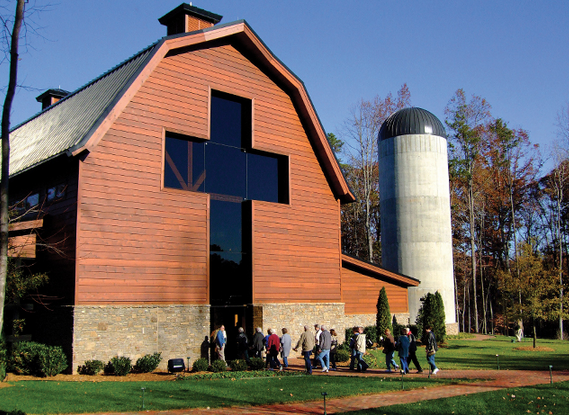 Billy Graham's farm