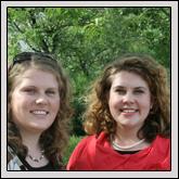 Laura Pugh Parker and Beth Pugh Farrell