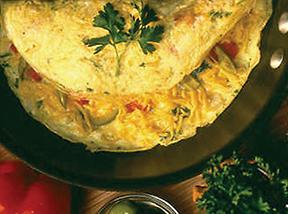 garden omelet recipe
