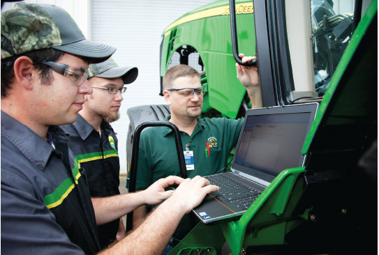 Farm Equipment Technicians Train for Future Careers - North ...