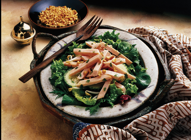 thai turkey salad recipe