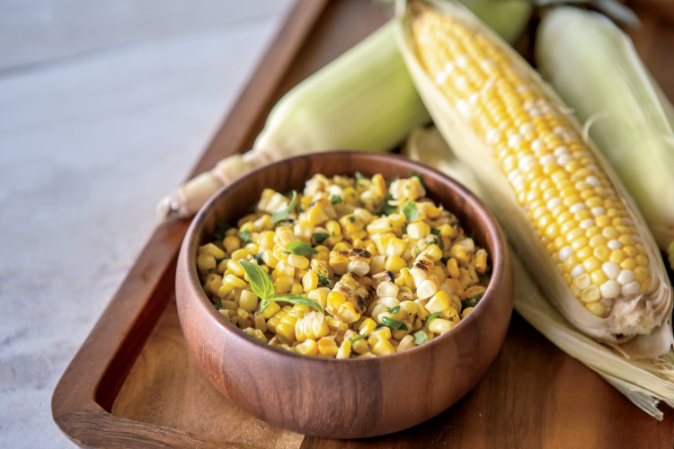 Grilled Sweet Corn off the Cob