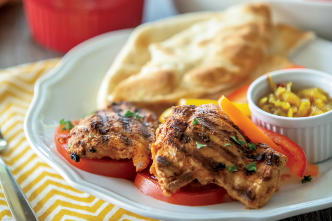 Southern Style Chicken Shawarma