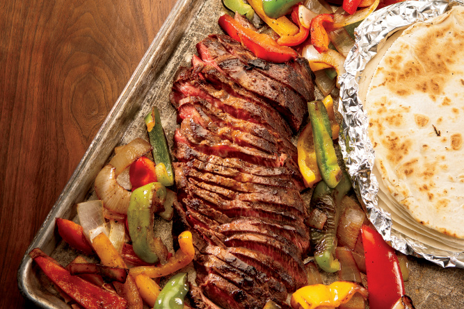 Sheet Pan Fajita Bake