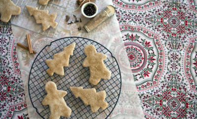 Sorghum Gingerbread Cookies