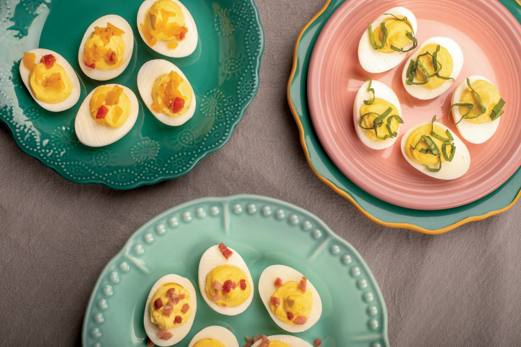 Mrs. Scarlett's Deviled Eggs