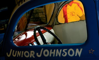 Junior Johnson's 1939 Ford Coupe Stock Car