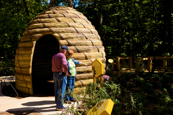 North Carolina Zoo Bee Exhibit
