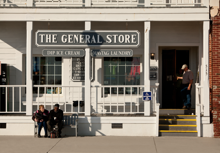 The General Store on Front Street in historic downtown Beaufort