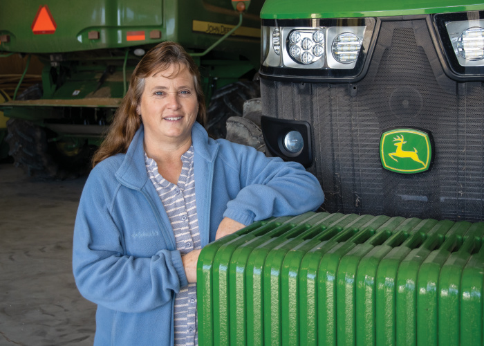 Rena Eure; women in agriculture