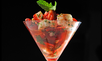 Strawberry Shrimp Ceviche Recipe