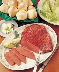 corned beef with dilled cabbage recipe