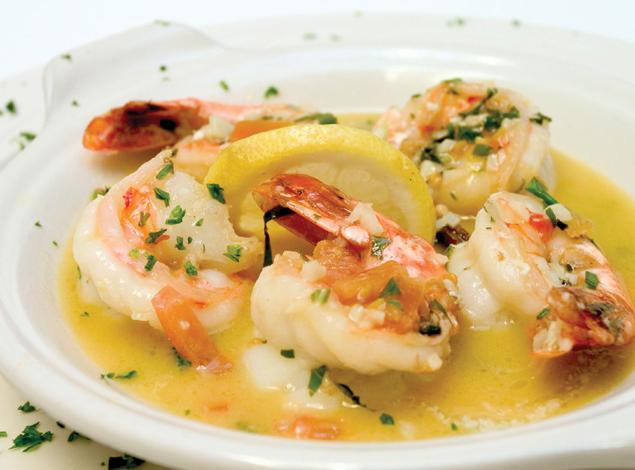 freshwater prawn scampi recipe