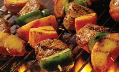 Honey Pork Tenderloin Kabobs